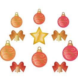 Kerstballen set