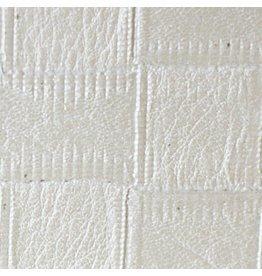 Interieurfolie White Leather Weave