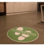 Vloerzeil - Vinyl Veiligheidszone Houd voldoende afstand