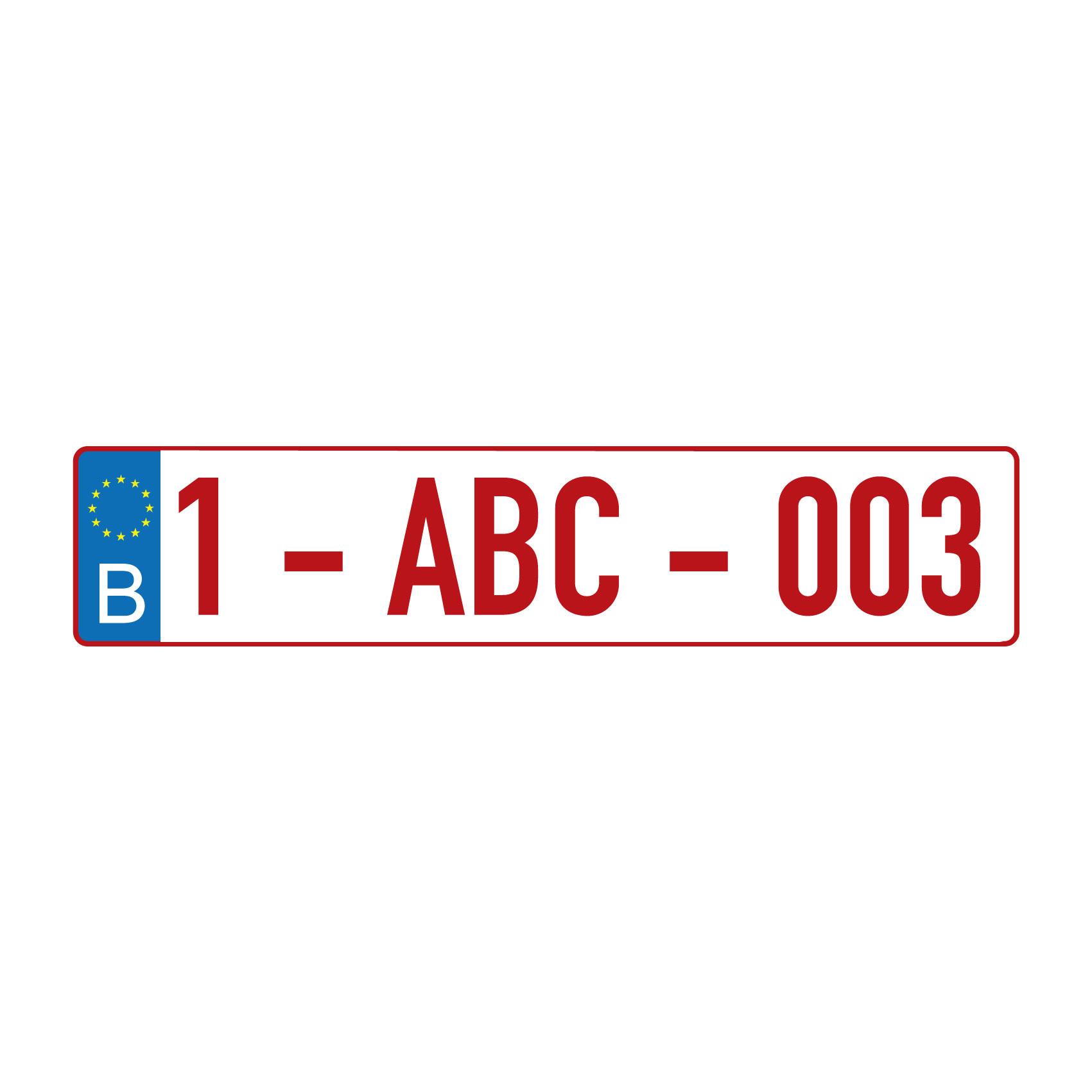 Nederlands kenteken sticker - Copy