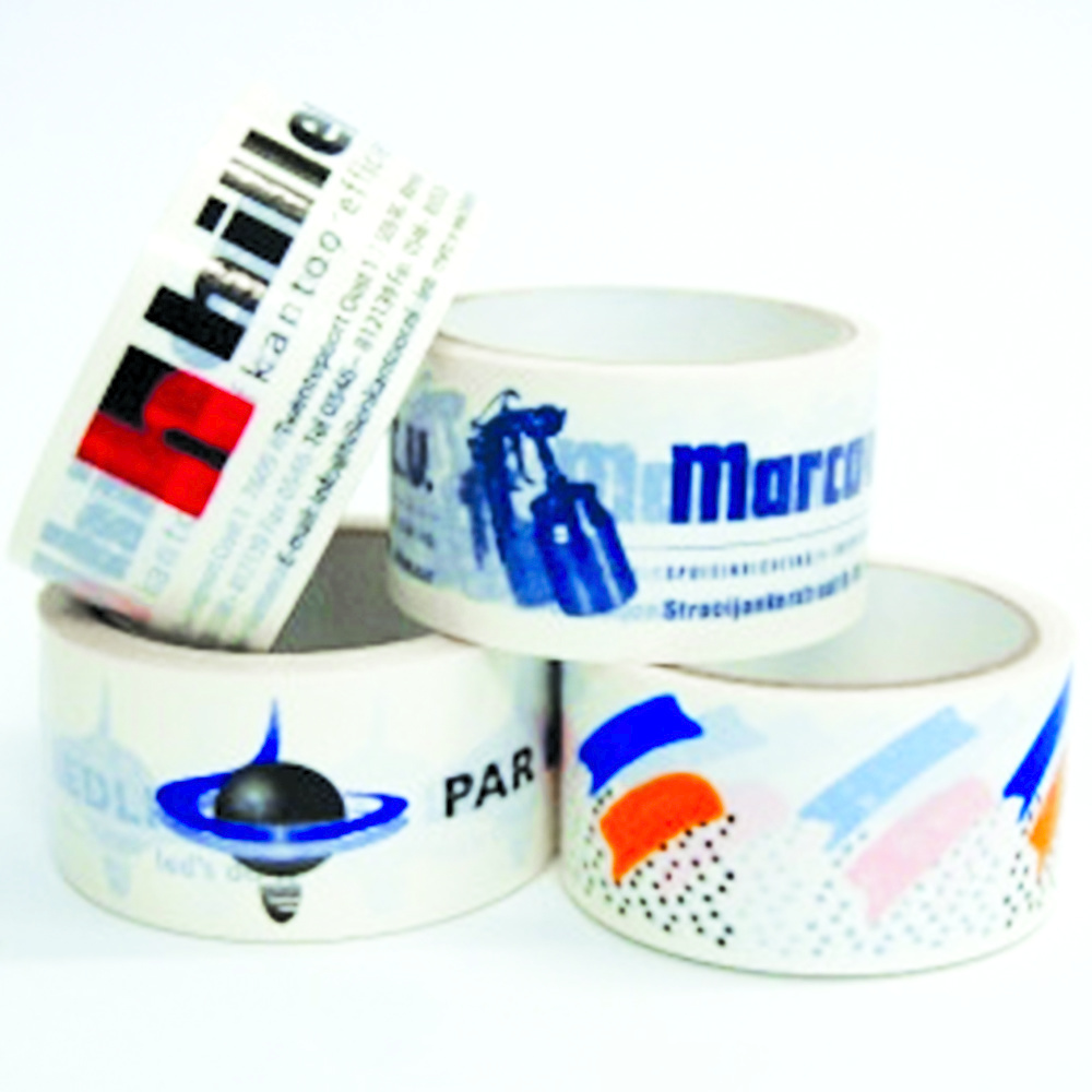 PP Acrylic bedrukte tape 50 mm