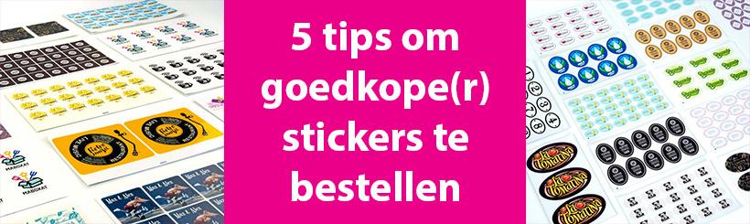 5 tips om goedkope(r) stickers te bestellen