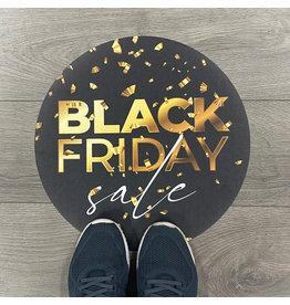 Blackfriday-vloerzeil
